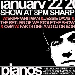 Piano's in the LES