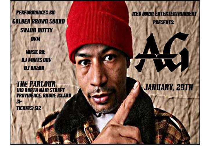AG of DITC , OVM, & Swan Notty Live at THe Parlour